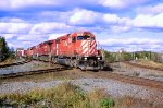 CP 6002 leads train #434 s/b across the CN diamond
