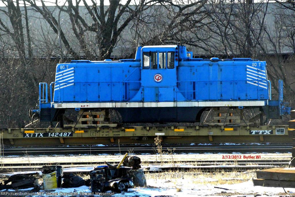 80 ton GE on its way to Winona MN