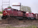 CP 8620 CP and 8798 lead train 195 to St. Paul