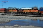 Eastbound stacker with BNSF power