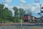 A carbon skyprint as L589 heads for the Wisconsin river