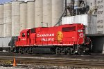 CP 4422 snores on the east end of Muskego yard