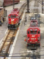 CP 4524 and 4450 on the Muskego ramp