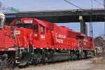 CP 6242, fresh out of the CAD Rail shoppes (Lachine QC),