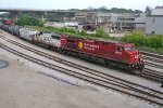 CP 8652 and the departed Sd60 6020