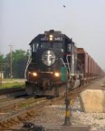 IC 6013 prepares to drag ROCK job U700 to Illinois