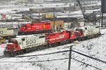 CP 4421 is one of two (also 4422) 38-2's with the big golden beaver