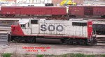 SOO 4436 snores in the middle of Muskego Yard