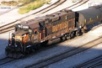 Only remaining Gp38 bandit dodges the 27th St shadow in its home yard