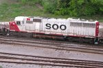 477 is backing their setout into Muskego yard