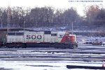 Soo 6034 on the point of 277 - seldom seen on this bastion of 40-2's