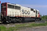 SOO 6040 ahs CP8880 as 2nd banan for the run to the Windy City