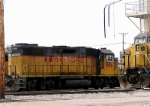 Oddly while 8523 is morphing into the SP heritage unit at Horicon, this 1996 appears