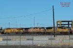 Trio in the Dolton intermodal yard