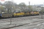 UP 5633 and 6204 with coal for Edgewater power in Sheboygan