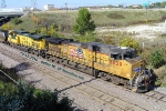 Sheboygan coal has Up 5839 Ac44 and former CNW Ac44CW pullin', with Dpu UP 5745.