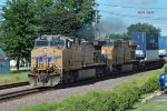 Westbound intermodal leaves a carbon skyprint