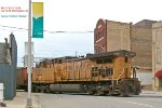 UP 6577 explores Uptown Racine for a moment