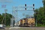 WPSX empties smoke the eastbound signals