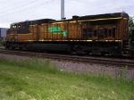 UP 6715 rests before its nocturnal coal run to Sheboygan