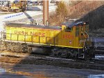 UPY 1302 got used to melting snow in Pittsburgh