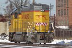 UPY 712 snores on the scale track