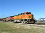 BNSF 5483 is next with X572 in tow