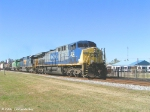 CSX 312 Leads Q606 NB toward the PD/P&A Subs