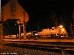 The action moves to Flomaton AL as Q520 pulls up past the coal tower to pickup cars from the Flomaton yard.