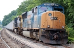 West bound coal train with CSXT 4809 (SD70MAC) & CSXT 7883 (C40-8W)