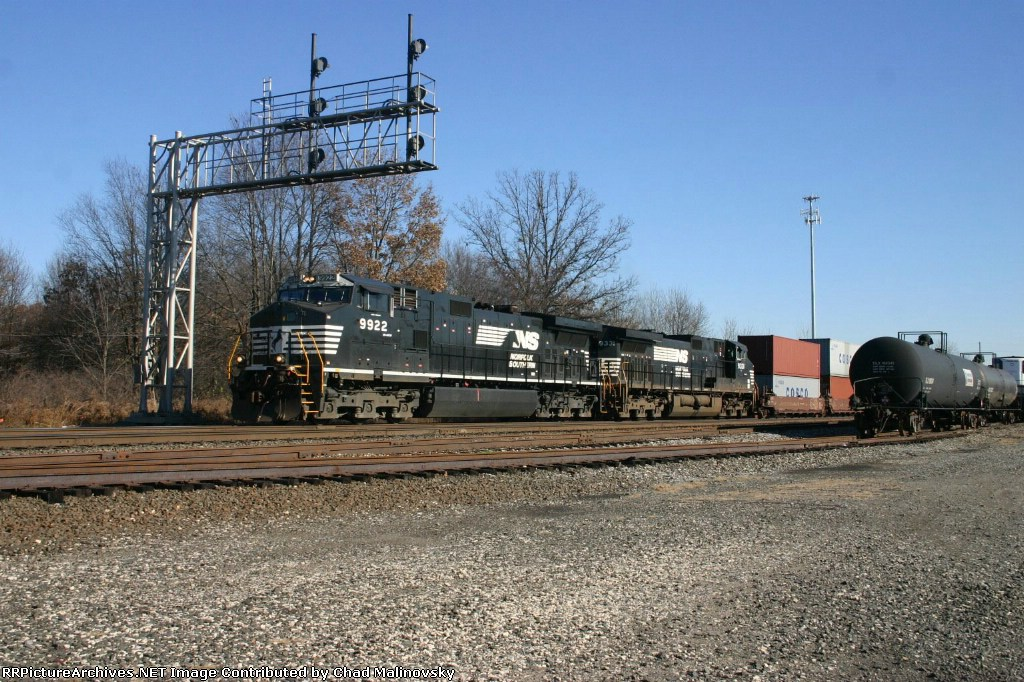 NS 9922 west