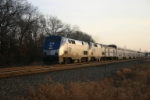 Amtrak 29 regains speed after crossing over at CP 487