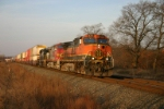 BNSF 970 heads east on 20G