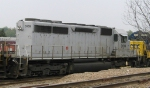 CEFX 3109 sits in the yard