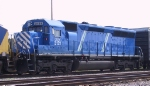 CEFX 3121 idles in the morning in the CSX yard