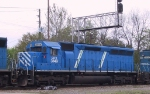 CEFX 3149 follows another leaser out of the yard