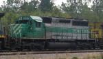 FURX 3005 works on a grain train