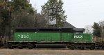 HLCX 7850 arrives on CSX train Q614