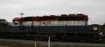 HLCX 6204 trails CSX 5120 on a northbound freight