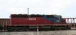 HLCX 6307 runs the wye