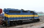 HLCX 4208 sits in the CSX yard