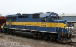 HLCX 4208 works in the CSX yard