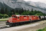 CP GP 9s 8214 and 8218 Banff, Alberta