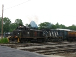 301 is back to work at the north end of Wenona Yard
