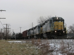 Z127-30 heads north with 139 cars