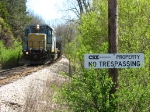 Indications of CSX's presence still linger as SBS's Z116 approaches