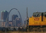 UP 4321 & The Arch