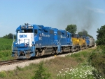 Both 38-2's and 3 35's lead the GLC train south