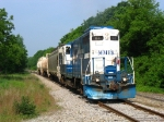 24 departs from the yard to transverse the line to Ionia for the first time in several months