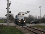 Traffic on M-57 will be forced to stop for a train only one more time ever two days after this